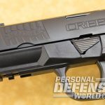 Walther Creed pistol serrations