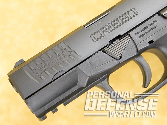 Walther Creed pistol details