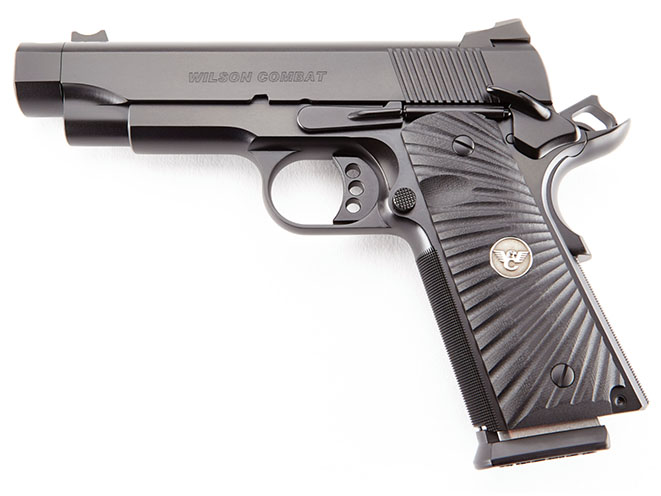 Wilson Combat Carry Comp Professional pistol left profile