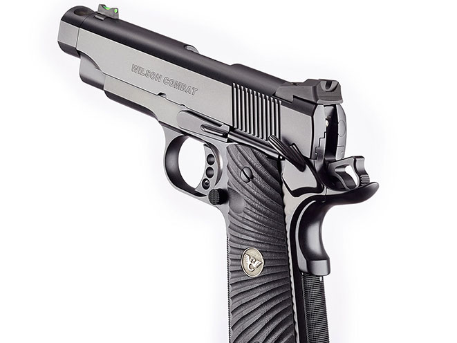 Wilson Combat Carry Comp Professional pistol rear