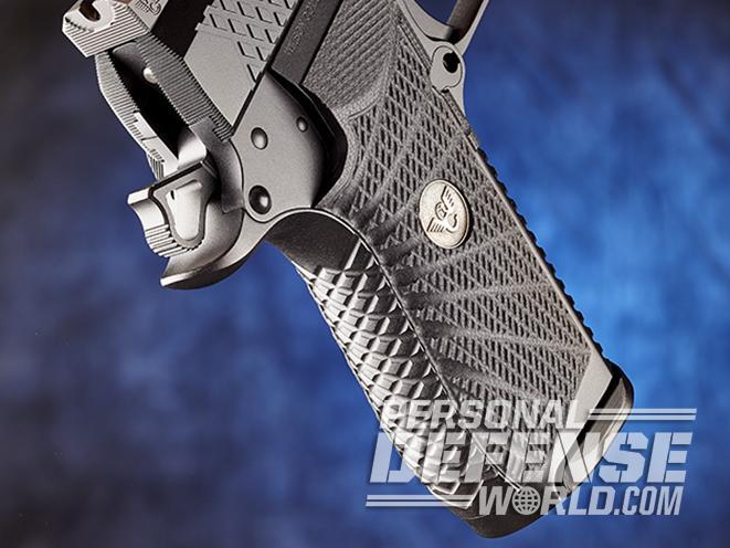 Wilson Combat EDC X9 pistol backstrap