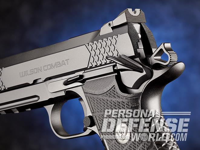 Wilson Combat EDC X9 pistol controls