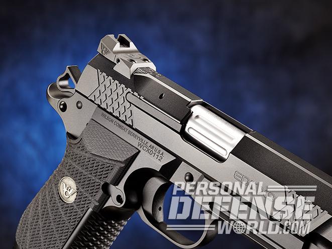 Wilson Combat EDC X9 pistol trigger guard