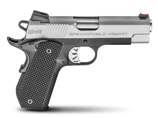 "Springfield Armory 1911 EMP 4"" Concealed Carry Contour 1911 pistol"