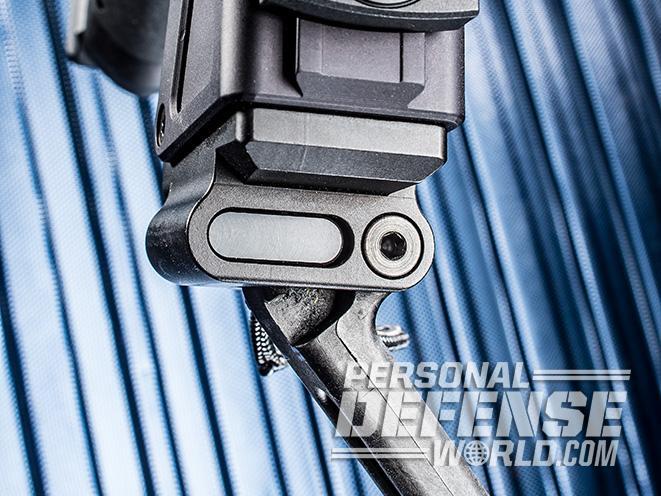 B&T USW pistol carbine catch