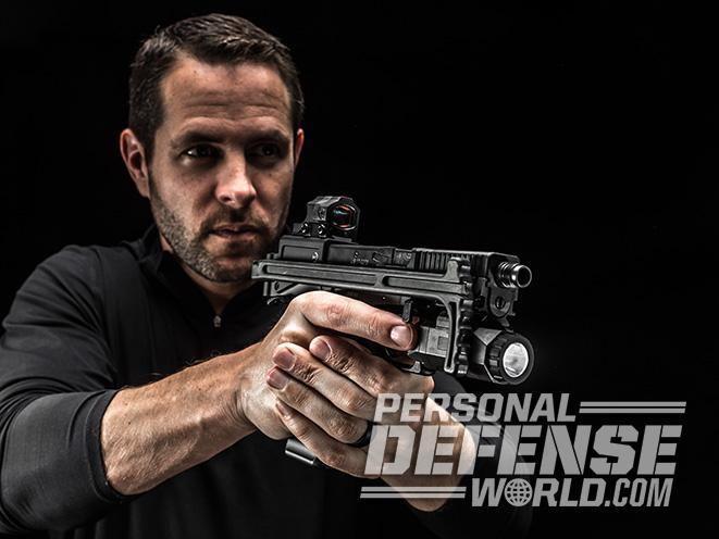B&T USW pistol carbine aim