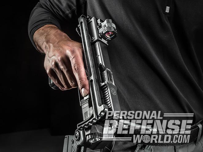 B&T USW pistol carbine holster draw