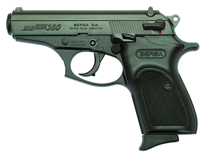 Bersa Thunder .380 concealed carry handguns