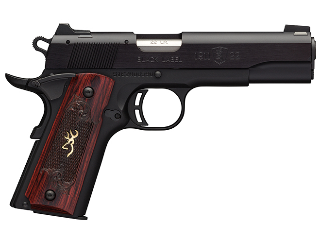 Browning 1911-22 Black Label Medallion 1911 pistol