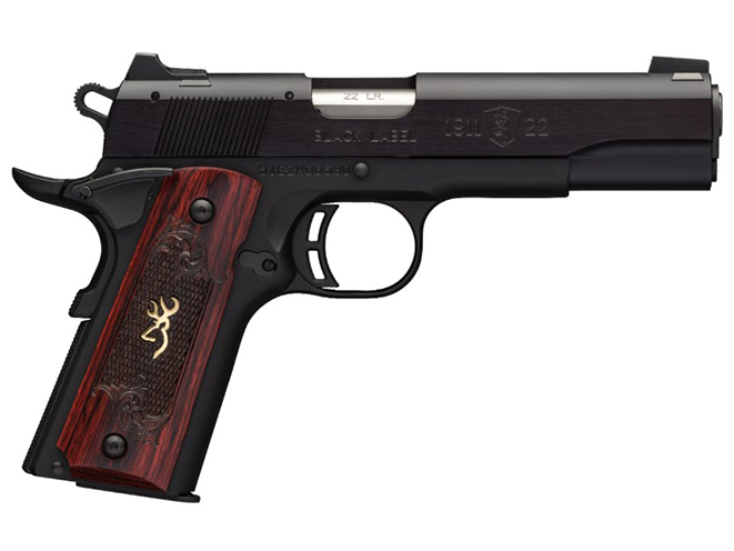 Browning Black Label 1911-22 medallion pistol full size
