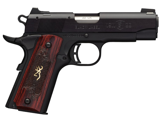 Browning Black Label 1911-22 medallion pistol compact