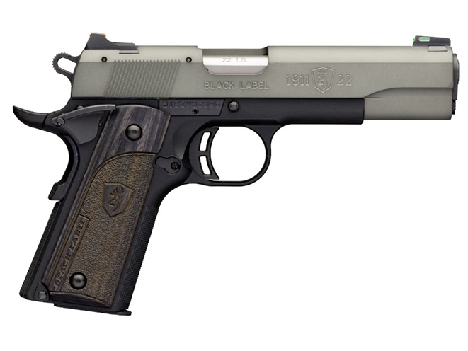 Browning Black Label 1911-22 Gray pistol full size