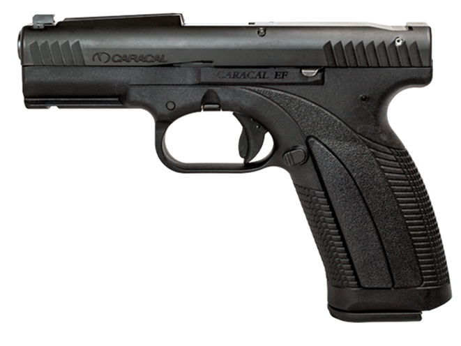 Caracal Enhanced F pistol right profile