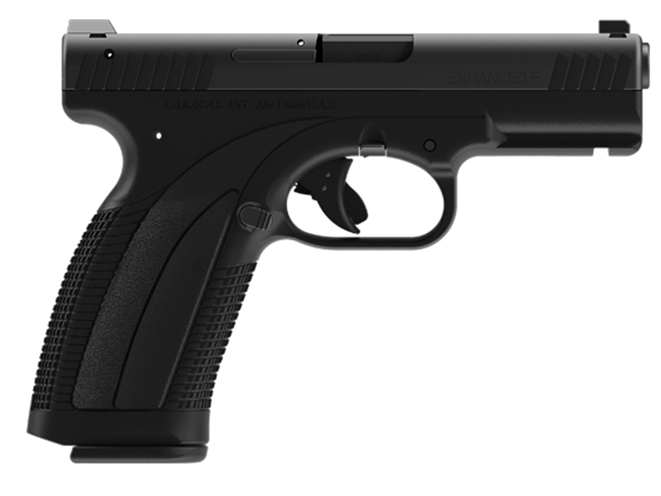 Caracal Enhanced F handgun left profile