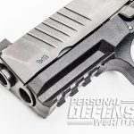 FN 509 pistol slide serrations