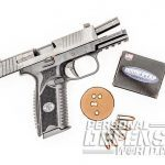 FN 509 pistol range test