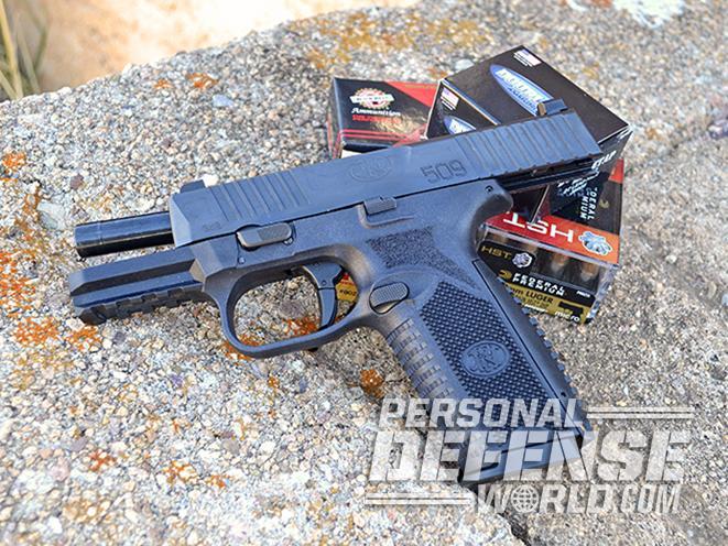 FN 509 pistol ammo