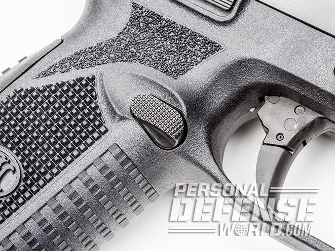 FN 509 pistol mag release