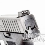 FN 509 pistol rear sight