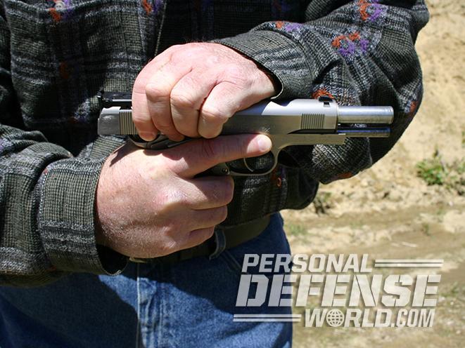slide gun handling