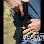 holster gun handling