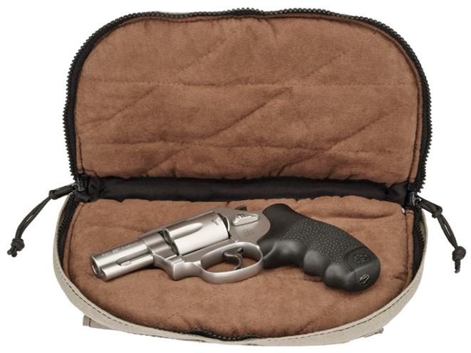 hogue pistol bags open