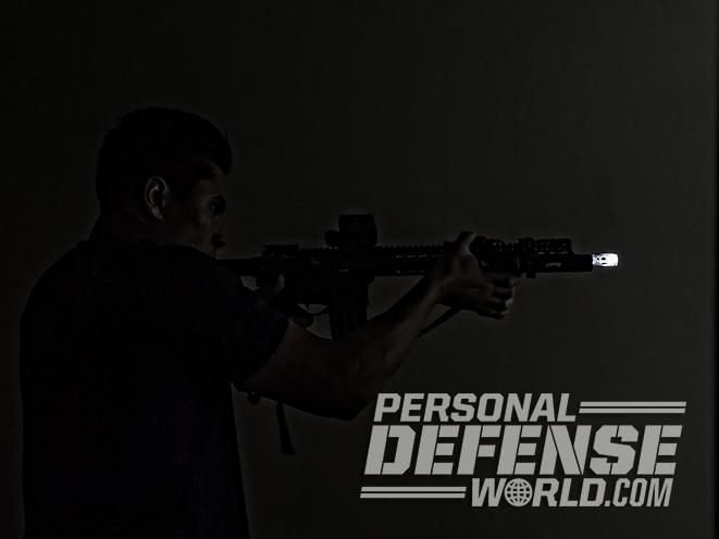 home defense dark hallway