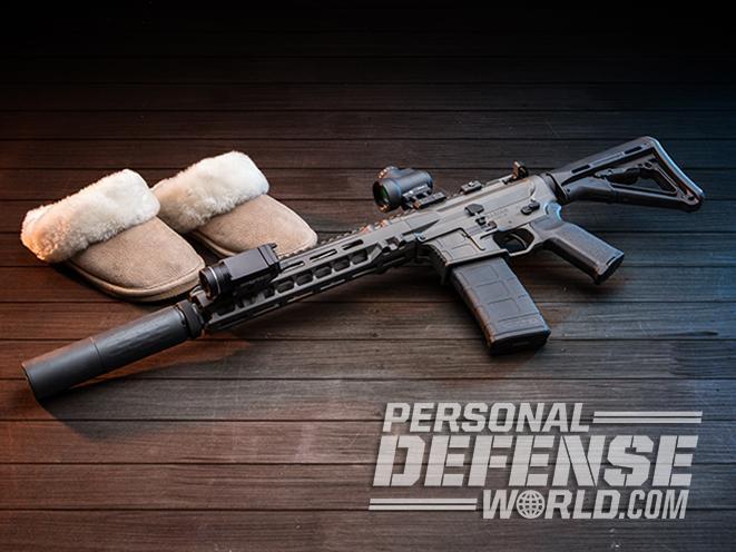 home defense carbine left angle