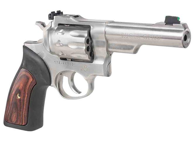 Davidson's Ruger GP100 .22 LR revolver, ruger american compact