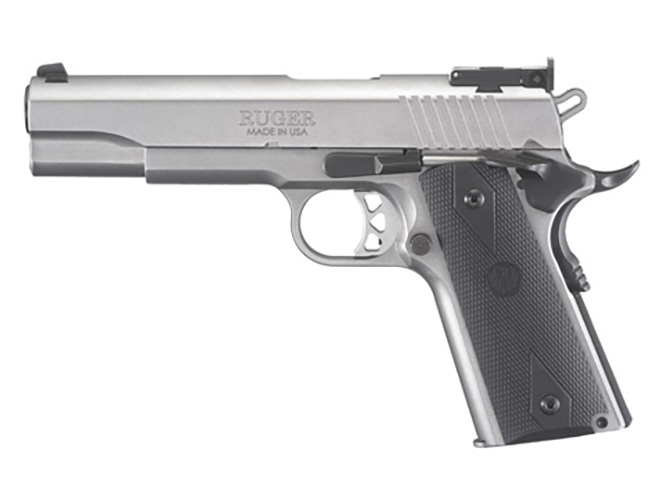 Ruger SR1911 10mm left profile