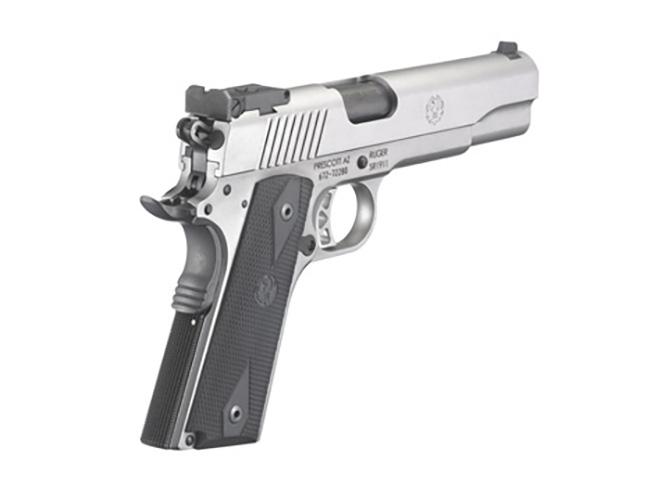 Ruger SR1911 10mm left rear angle
