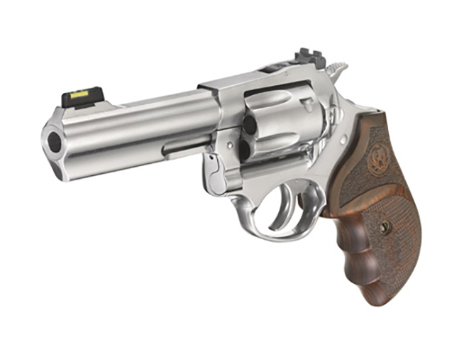 Ruger SP101 Match Champion revolver left angle