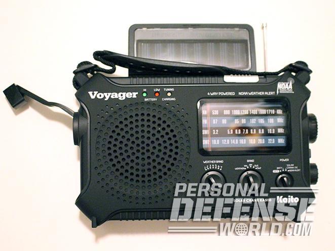 Safe Room radio