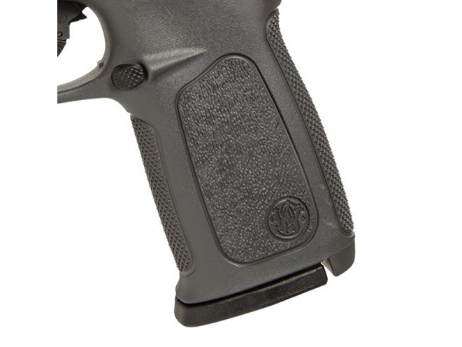 Smith & Wesson SD Gray Frame pistol grip