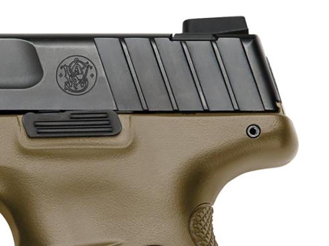 Smith & Wesson SD Flat Dark Earth rear sight