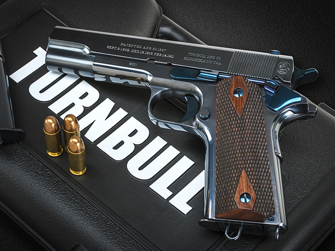 Turnbull Commercial 1911 handgun