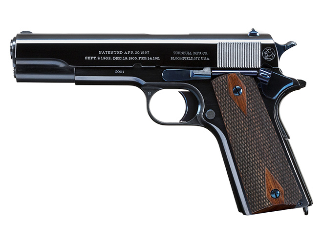 Turnbull Commercial 1911 pistol left profile