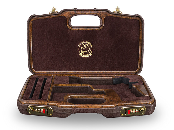 Turnbull Commercial 1911 pistol case open