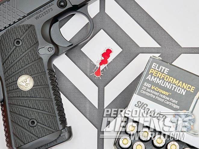 Wilson combat X-TAC Elite Compact target