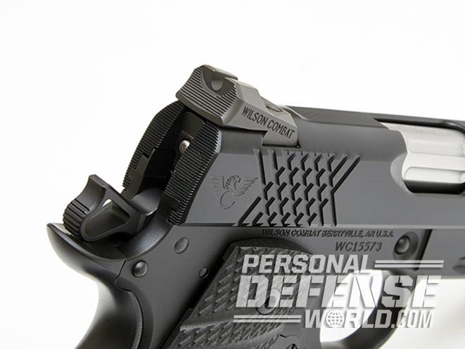 Wilson combat X-TAC Elite Compact serrations