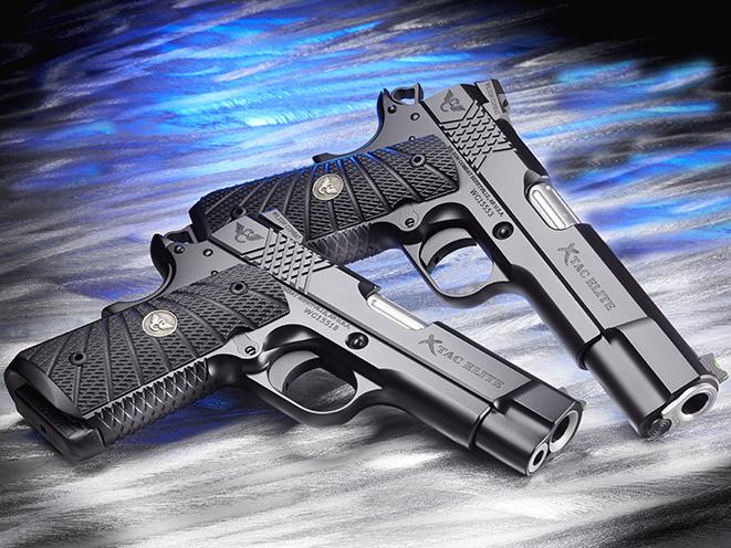 Wilson Combat X-TAC Elite 1911 pistols