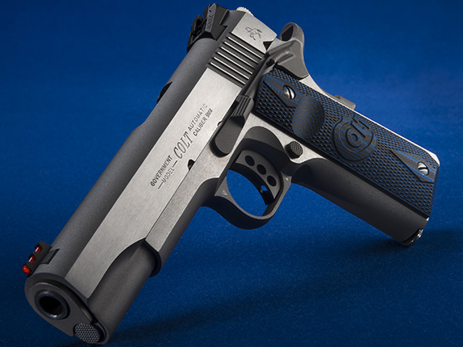 Colt Competition Stainless 1911 pistols