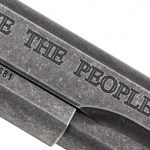 Sig Sauer 1911 We The People pistol engraving