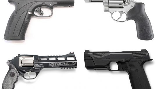 26 new pistols and revolvers