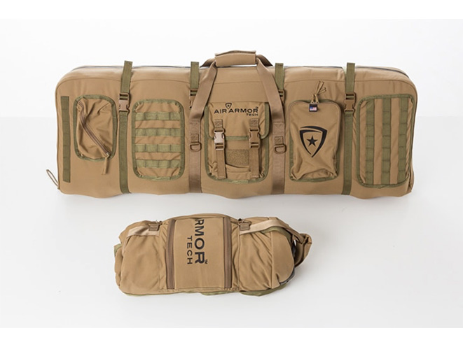 Air Armor Tech Mid-Length Gun Case folded