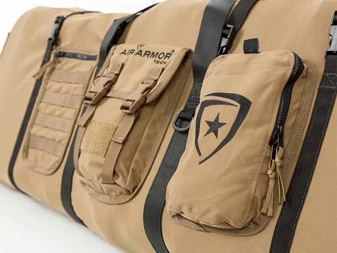 Air Armor Tech long gun case angle