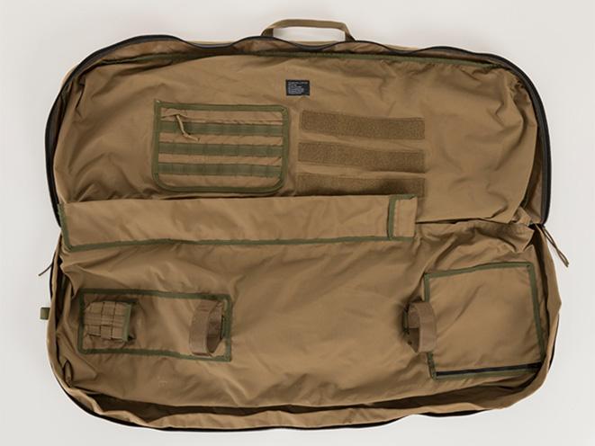 Air Armor Tech Mid-Length Gun Case open
