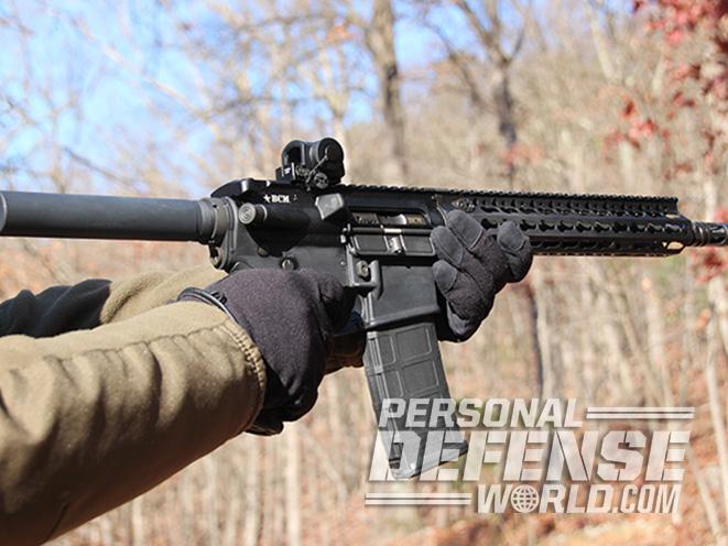 BCM RECCE-11 KMR-A pistol test