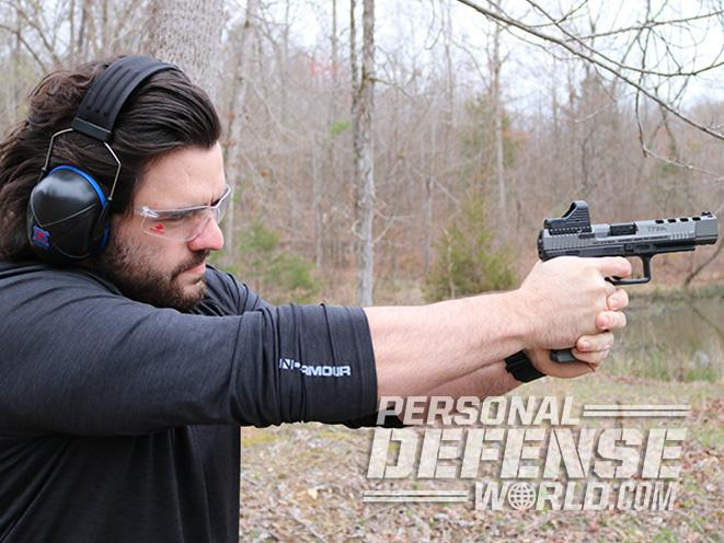 Canik race pistol test