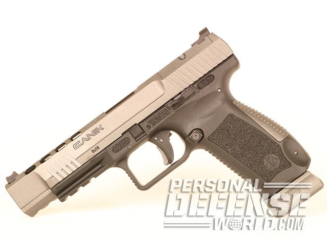 Canik TP9SFx pistol left angle